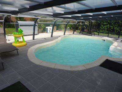 Zwembad  Vakantiehuis 52600 Nantes