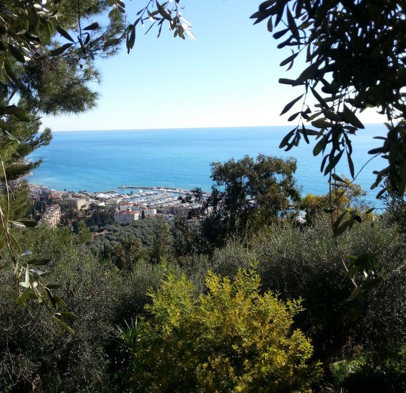 Uitzicht vanaf de woning  Vakantiehuis 5408 Menton