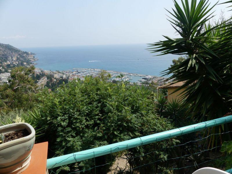 Uitzicht vanaf het terras  Vakantiehuis 5408 Menton