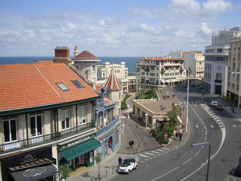Uitzicht vanaf de woning  Appartement 55316 Biarritz