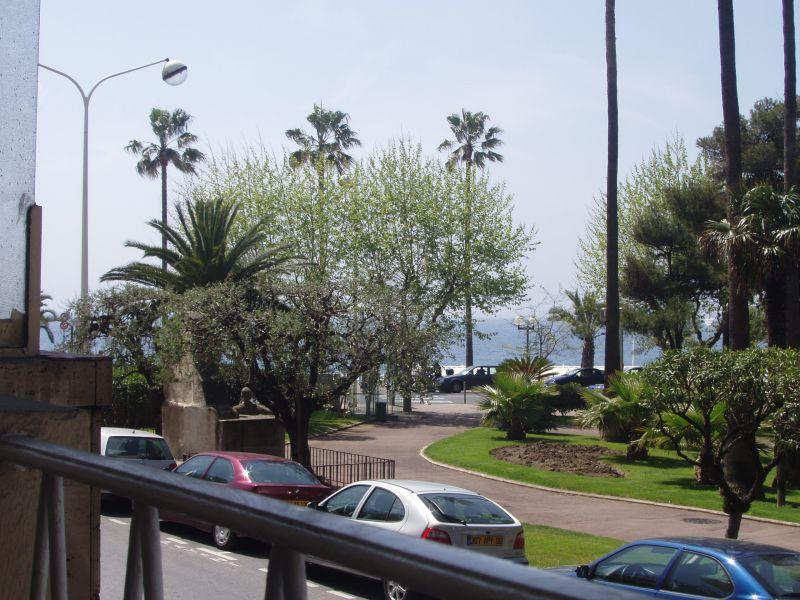 Uitzicht vanaf het balkon  Appartement 5542 Cannes