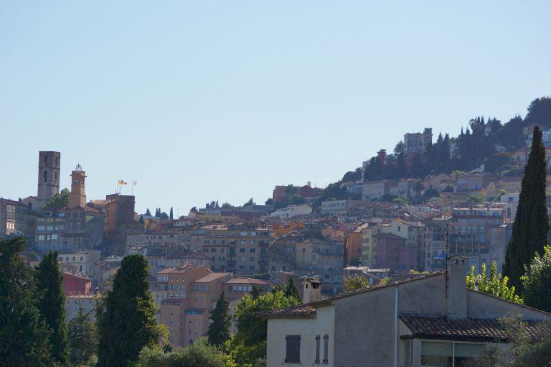 Uitzicht vanaf de woning  Vakantiehuis 56131 Grasse