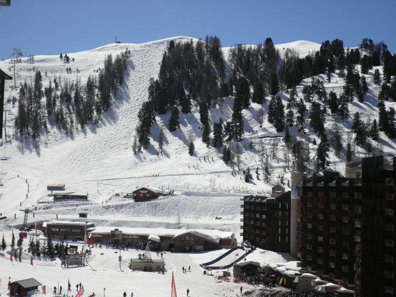 Uitzicht vanaf het balkon  Appartement 58207 La Plagne