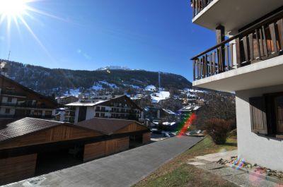 Uitzicht vanaf het terras  Appartement 58631 Haute-Nendaz