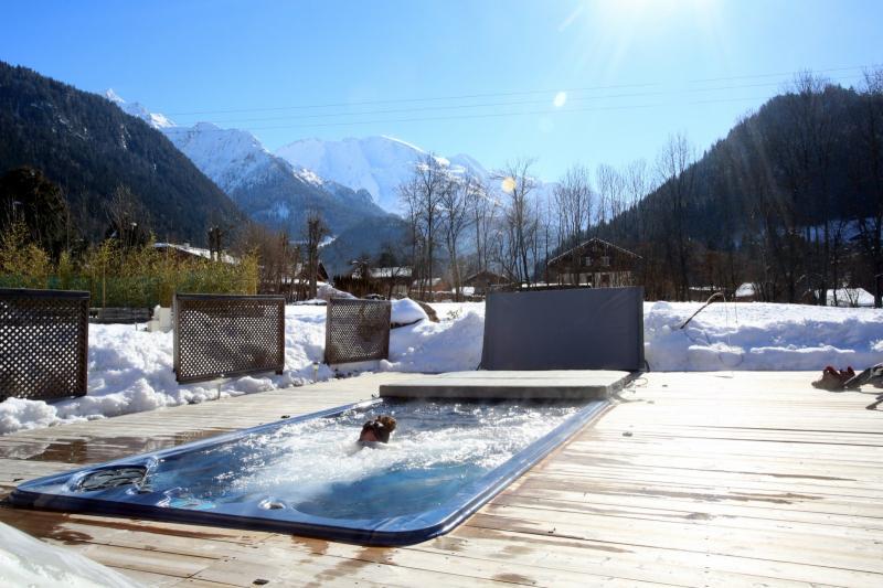 Uitzicht vanaf de woning  Appartement 59034 Saint Gervais Mont-Blanc