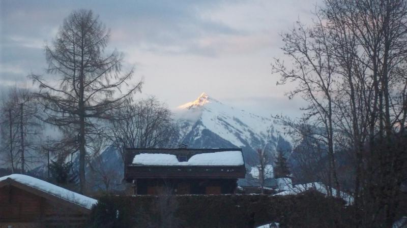 Uitzicht vanaf het balkon  Studio 59316 Praz de Lys Sommand