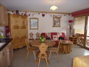 Appartement in een appartementencomplex Saint Gervais Mont-Blanc 5 tot 7 personen