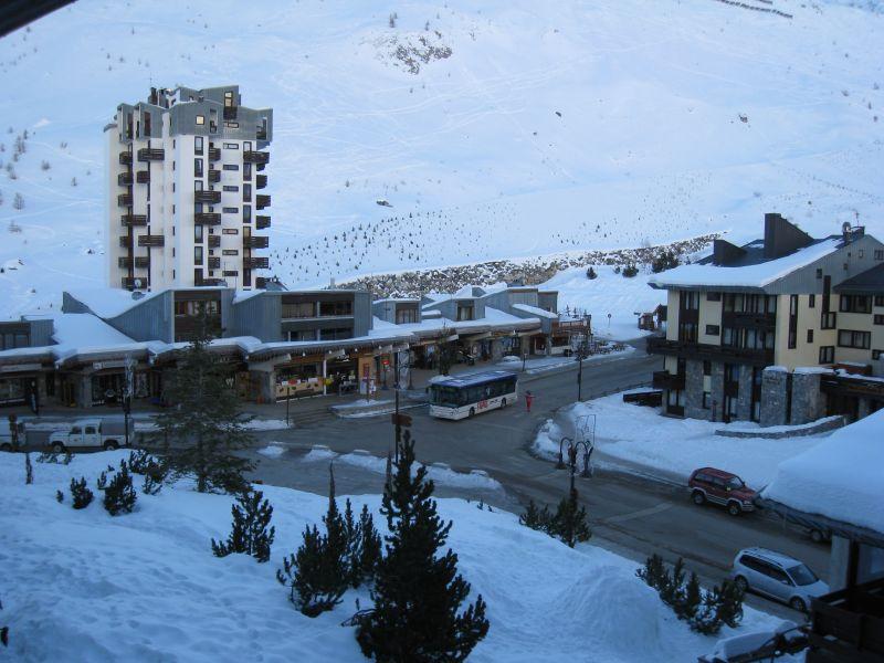 Uitzicht vanaf de woning  Appartement 60012 Tignes