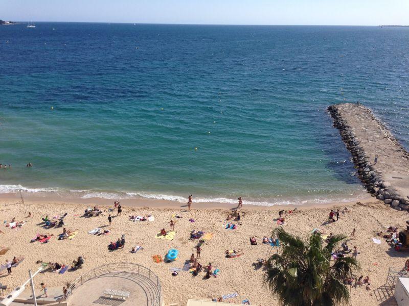 Uitzicht vanaf het terras  Studio 62424 Juan les Pins