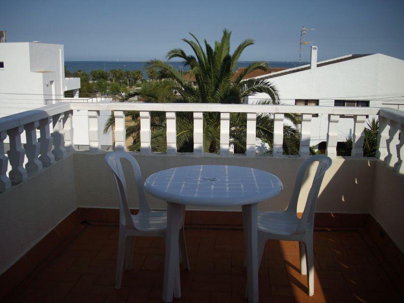 Uitzicht vanaf het balkon  Villa 63018 L'Ampolla