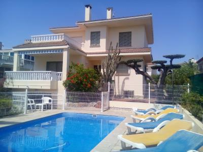 Uitzicht vanaf het terras  Villa 63018 L'Ampolla
