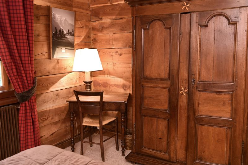slaapkamer 1  Chalet 706 Chamonix Mont-Blanc
