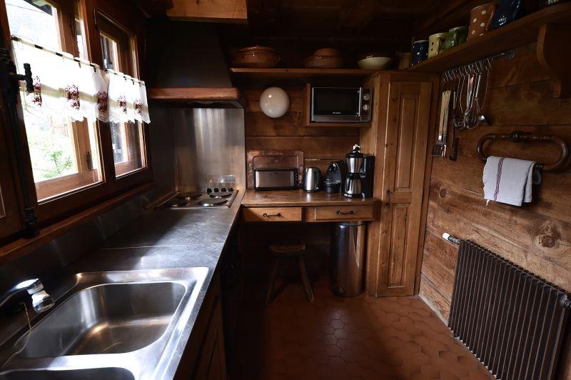 Gesloten keuken  Chalet 706 Chamonix Mont-Blanc
