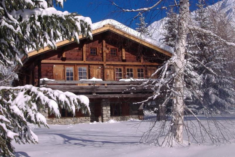 Het aanzicht van de woning  Chalet 706 Chamonix Mont-Blanc