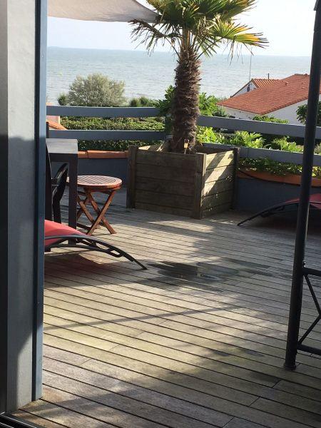 Uitzicht vanaf het terras  Villa 9477 Pornic