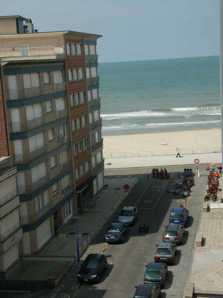 Uitzicht vanaf het terras  Appartement 9565 Koksijde