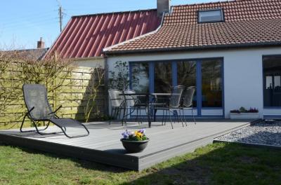 Uitzicht vanaf het terras  Huis 81293 Cayeux-sur-Mer