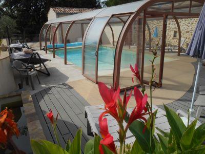 Zwembad  Vakantiehuis 106394 Les Fumades