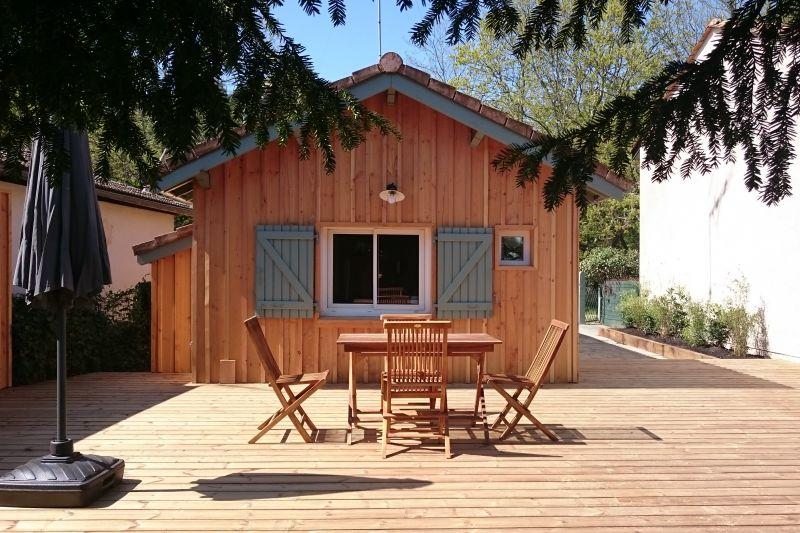 Uitzicht vanaf de woning  Vakantiehuis 108872 Andernos les Bains