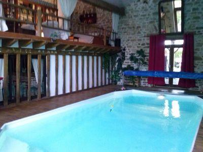 Zwembad  Bijzondere woning 114854 Guéret