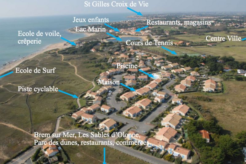Zicht op de omgeving  Huis 94166 Bretignolles sur mer