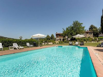 Zwembad  Appartement 104392 Greve in Chianti