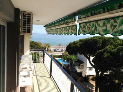 Uitzicht vanaf de woning  Appartement 76574 Barcelona