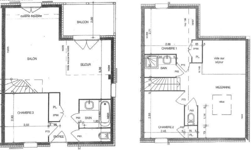 Plattegrond van de woning  Appartement 111117 Les Saisies