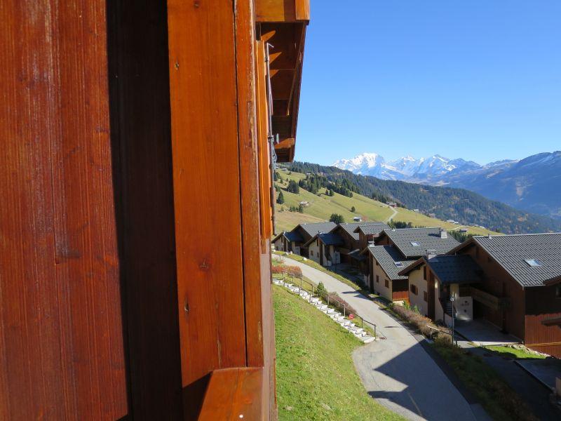 Uitzicht vanaf het balkon  Appartement 111117 Les Saisies