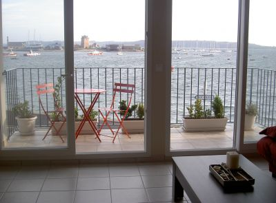 Uitzicht vanaf de woning  Appartement 113015 Camaret sur Mer