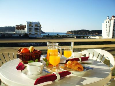 Uitzicht vanaf het balkon  Appartement 74983 São Martinho do Porto
