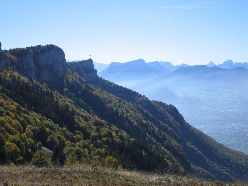 Zicht op de omgeving  Chalet 65968 La Féclaz