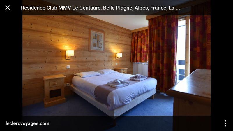 slaapkamer 1  Appartement 111465 La Plagne
