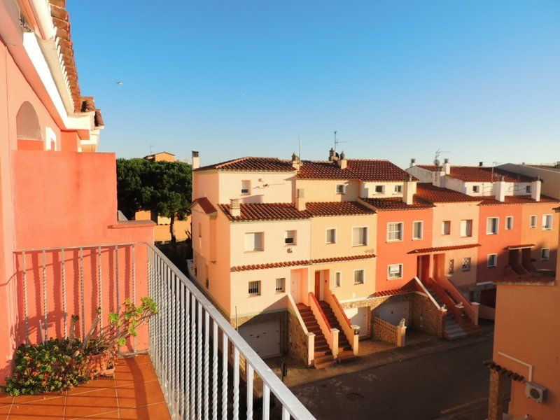 Uitzicht vanaf het terras  Appartement 112044 Empuriabrava