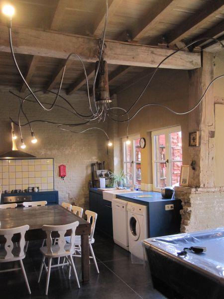 Open keuken  Vakantiehuis 80282 Kortrijk