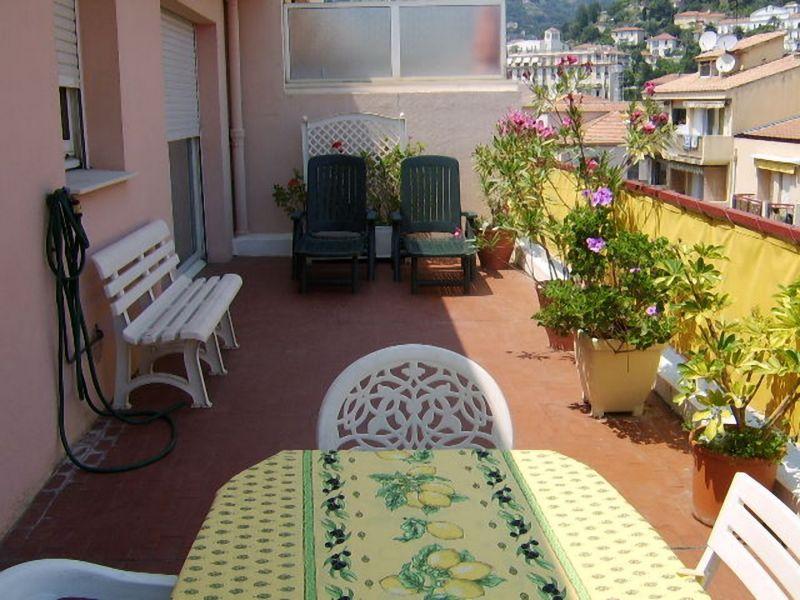 Uitzicht vanaf het terras  Appartement 107752 Menton