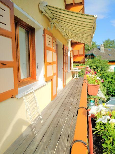 Uitzicht vanaf het balkon  Appartement 115180 Annecy