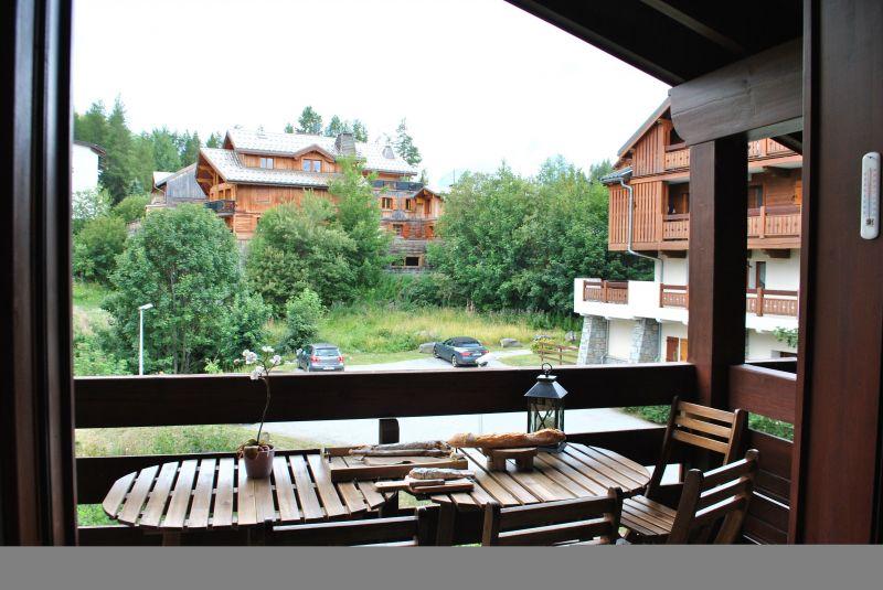 Uitzicht vanaf het terras  Appartement 116778 Les 2 Alpes