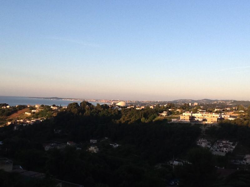 Uitzicht vanaf het terras  Appartement 73307 Nice