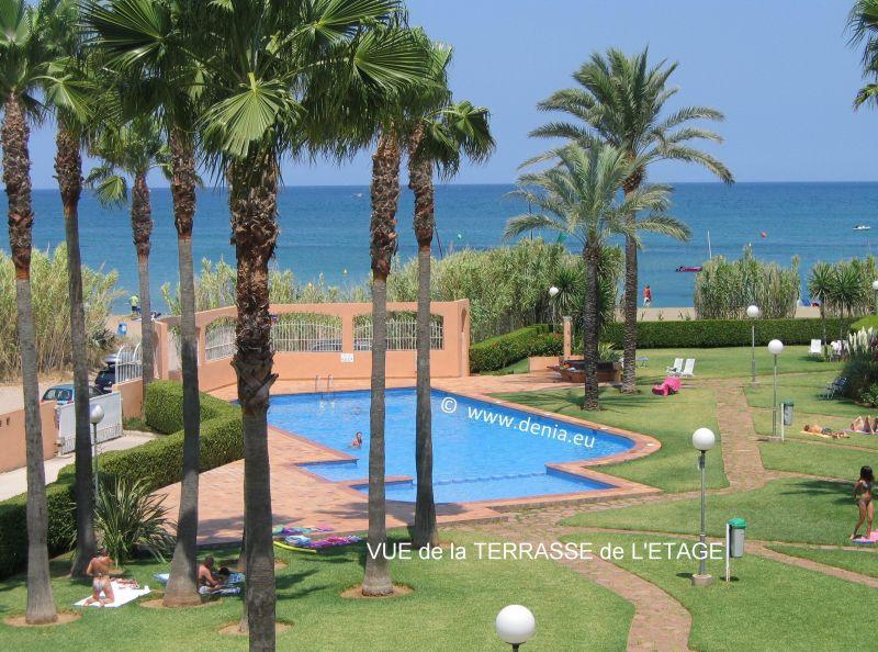 Uitzicht vanaf het terras  Appartement 101883 Dénia