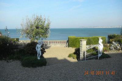 Uitzicht vanaf de woning  Appartement 67305 Deauville