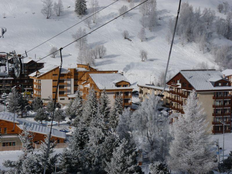 Zicht op de omgeving  Appartement 101179 Les 2 Alpes