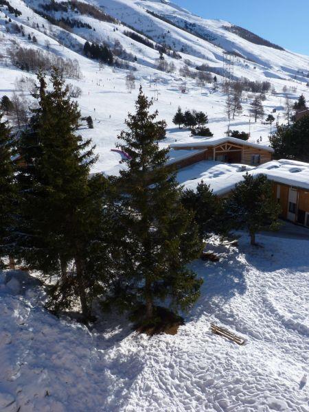 Uitzicht vanaf het balkon  Appartement 101179 Les 2 Alpes