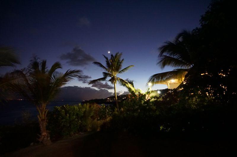 Uitzicht vanaf het terras  Villa 102539 Saint Francois