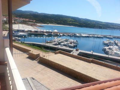 Uitzicht vanaf de woning  Appartement 102560 Isola Rossa