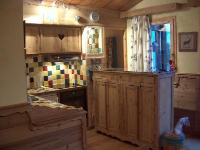 Open keuken  Appartement 68771 Courchevel