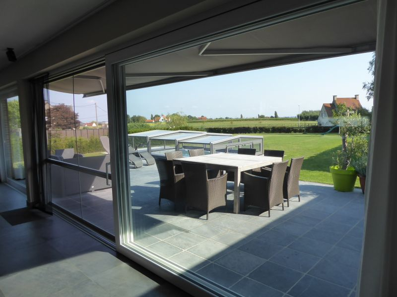 Uitzicht vanaf de woning  Vakantiehuis 78556 Kortrijk