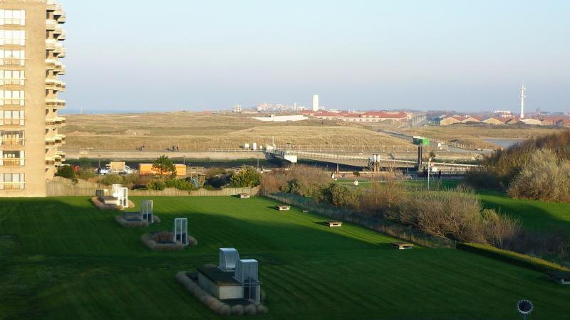 Uitzicht vanaf het balkon  Appartement 81674 Nieuwpoort