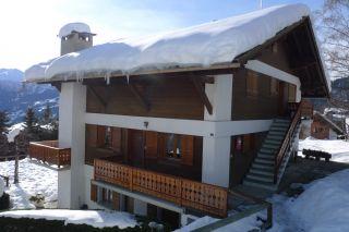 Uitzicht vanaf het balkon  Appartement 91574 Verbier