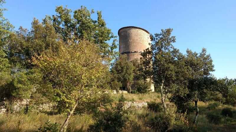 Uitzicht vanaf het terras  Villa 112780 Saint Maximin la Sainte Baume